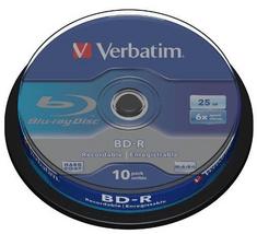 Verbatim BD-R mediji10 kosov na tortici (43742)