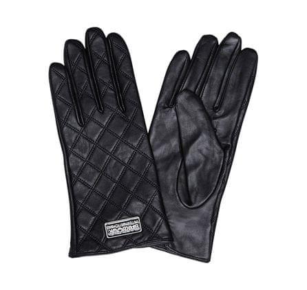 Barbour dámské kožené rukavice S černá - Parametry  d089de0367