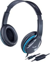 Genius HS-400A, blue, single jack