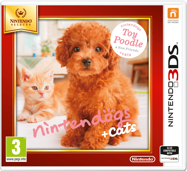 Nintendo 3DS Nintendogs+Cats-Toy Poodle&new Friends (Select)