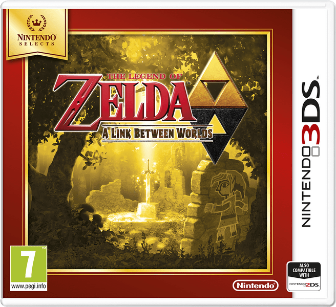Nintendo 3DS The Legend of Zelda: A Link Between Worlds (Select)