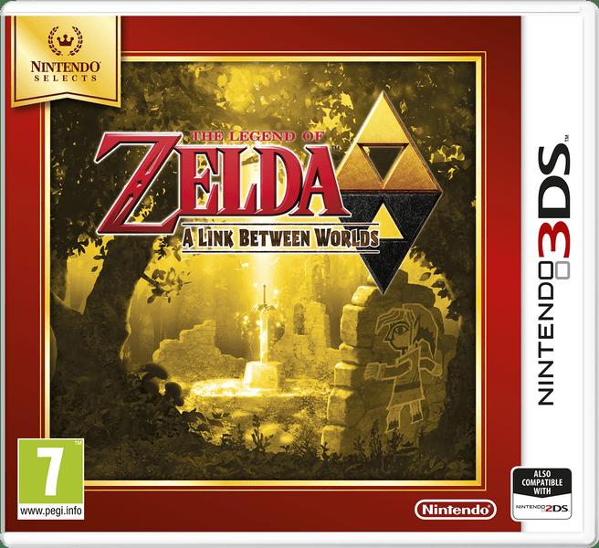 Nintendo 3DS The Legend of Zelda: A Link Between Worlds (Select)