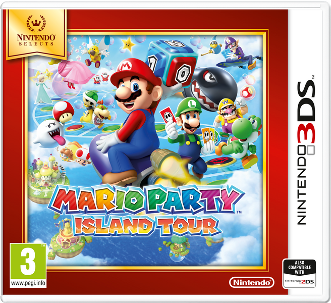 Nintendo 3DS Mario Party: Island Tour (Select)