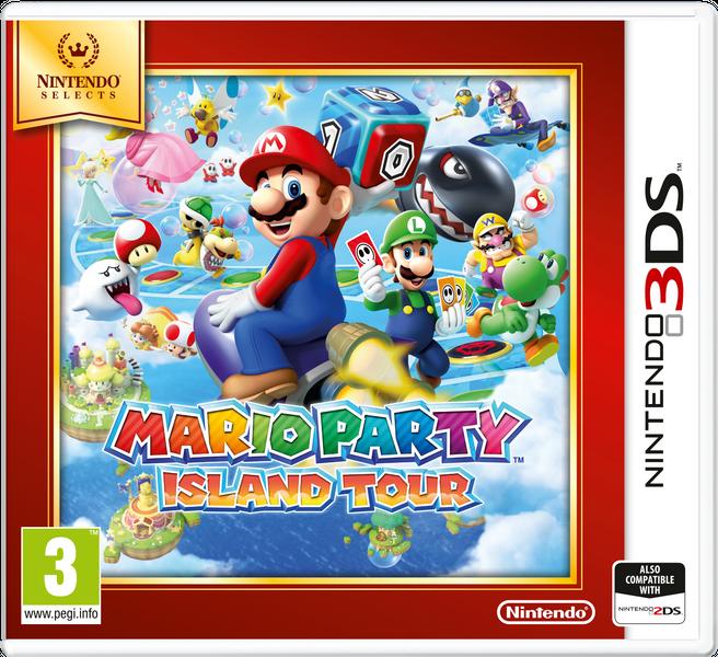 Nintendo 3DS Mario Party: Island Tour (Select)