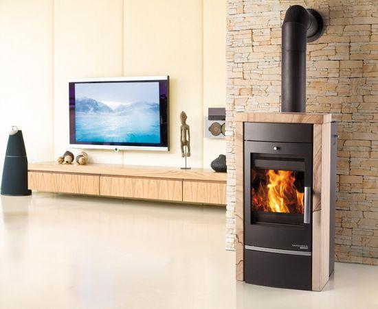 HAAS+SOHN VISBY TV woodstone Prestige s výměníkem
