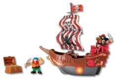 HMStudio zestaw statku pirackiego z akcesoriami