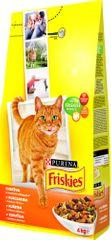 Friskies Cat Baromfi macskaeledel - 4 kg