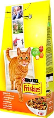 Friskies cat piščanec 4 kg