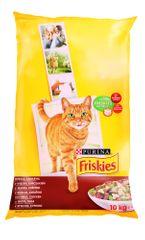 Friskies Cat s kuracím mäsom a zeleninou 10 kg