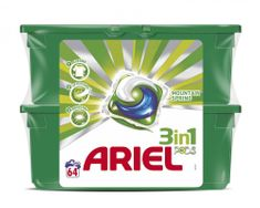 Ariel Active gél Mountain Spring 64ks (2x32)