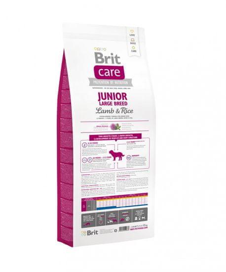 Brit hrana za mlade pse Care Large Breed, jagnjetina in riž, 12 kg