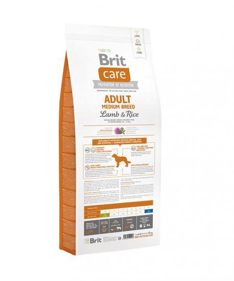 Brit Care Adult Medium Breed Lamb&Rice 12kg