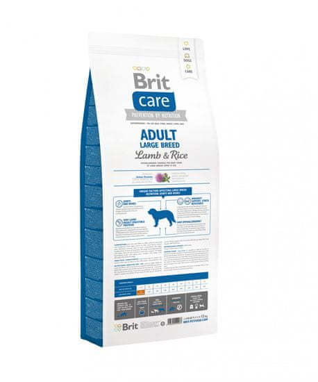 Brit Care Adult Large Breed Lamb&Rice 12kg