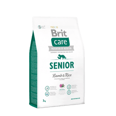 Brit hrana za pse Care Senior z ovčetino in rižem, 3 kg