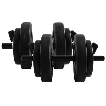 Total Sport Hantle żeliwne 2x7.5kg (15kg)