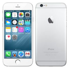 Apple iPhone 6S, 16 GB, stříbrný
