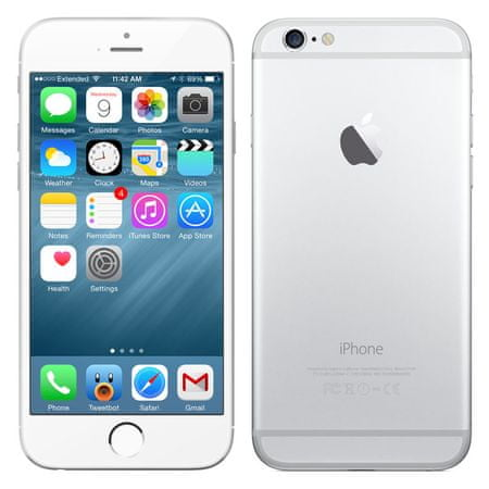 Apple iPhone 6S, 128 GB, srebrny