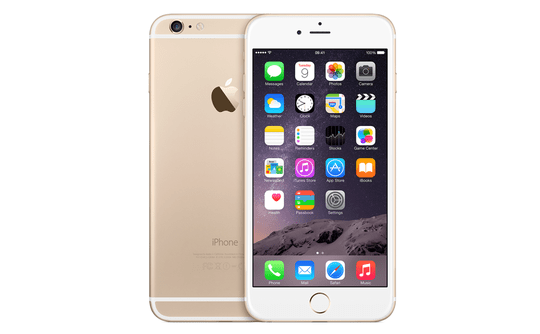 Apple iPhone 6S, 128 GB, zlatý