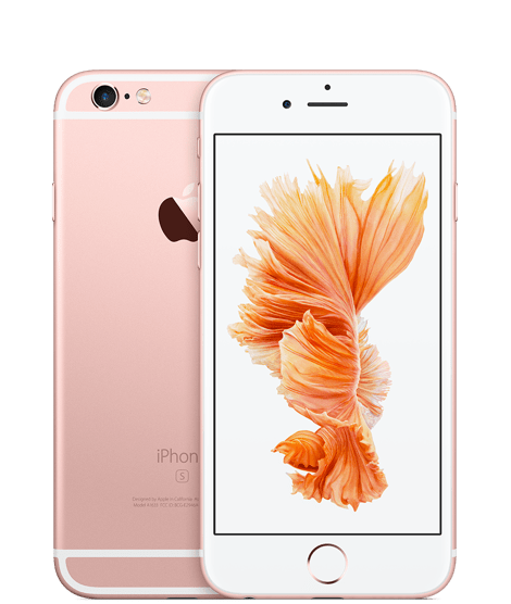 Apple iPhone 6S Plus, 128 GB, růžově zlatý