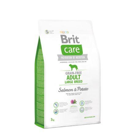 Brit sucha karma dla psa Care Grain-free Adult Large Breed Salmon & Potato 3kg