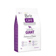 Brit sucha karma dla psa Care Grain-free Giant Salmon & Potato 3kg