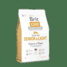 Brit sucha karma dla psa Care Grain-free Senior&Light Salmon & Potato 3kg