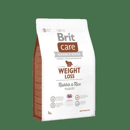 Brit shujševalna hrana za pse Care, okus zajec, 3 kg