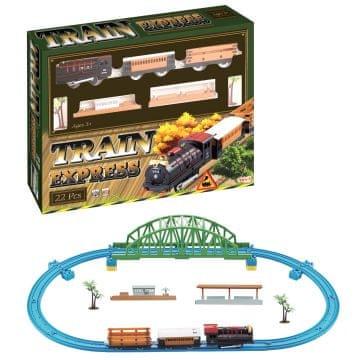Železnica z mostom