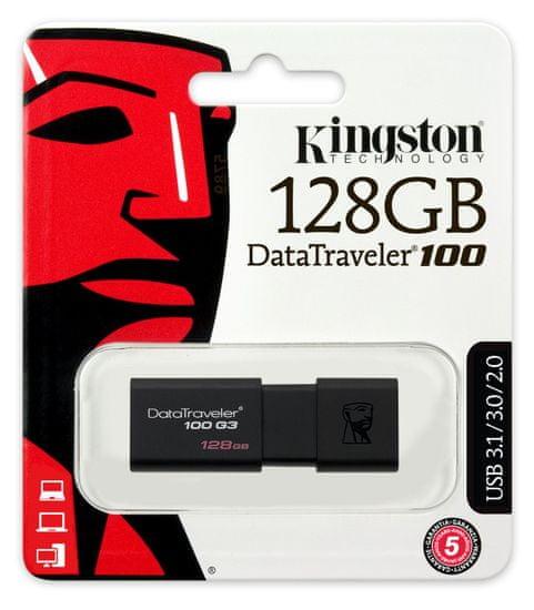 Kingston DataTraveler 100 G3 128GB (DT100G3/128GB)