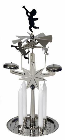 EverGreen angelsko zvonjenje, srebro, 30 cm