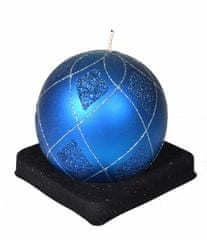 EverGreen Svíčka koule modrá