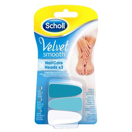 Scholl Velvet Smooth nadomestni nastavki za električno pilico za nohte