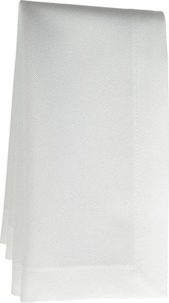 Sander Prostírání Gala 50x35 cm bílá, 6ks