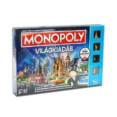 HASBRO Monopoly Itt és Most! Világkiadás Társasjáték