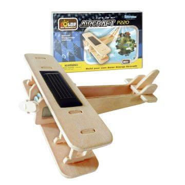 Robotime Solari leseni avion, Biplan