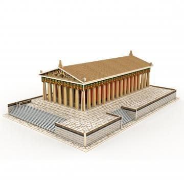 Robotime 3D znamenitost, lesena, Partenon