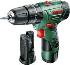 Bosch wiertarko-wkrętarka udarowa PSB 10,8 LI-2, 2 akumulatory (0603983924)