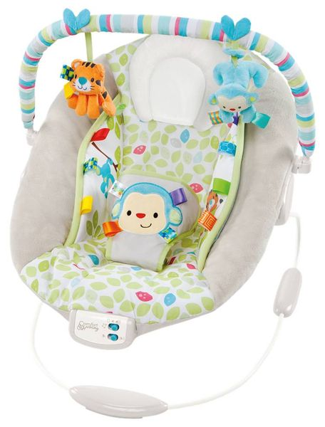 Bright Starts Lehátko Cradling Merry Monkeys - II. jak