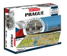 4D Cityscape 4DCity Puzzle - Praga