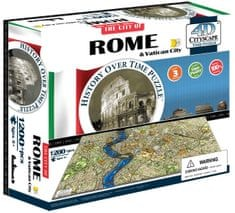 4D Cityscape Rím & Vatikán