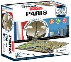 4D Cityscape Paříž