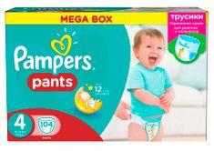 Pampers ActivePants 4 Maxi Mega Box 104 ks