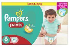 Pampers ActivePants 6 Extra Large Mega Box 88 ks
