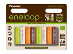 Panasonic baterije Eneloop Organic AA (8 kosov)