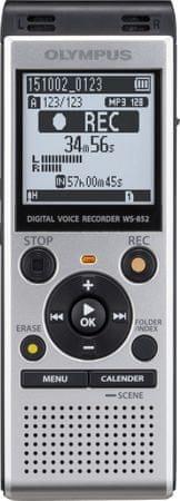 Olympus dyktafon WS-852