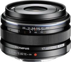Olympus objektiv 17 mm M.Zuiko Digital f/1,8 Black