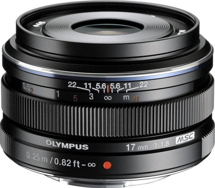 Olympus 17mm M.ZUIKO DIGITAL 1:1,8 Black