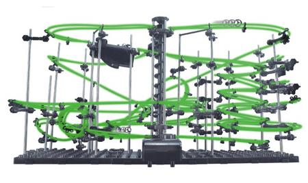 Invento Spacerail foszforeszkáló Űrvasút Level 4
