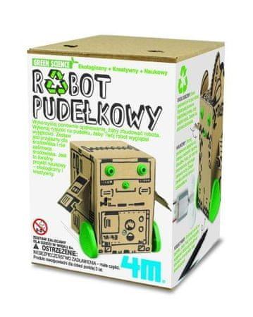 4M Zielona szkoła robot pudełkowy