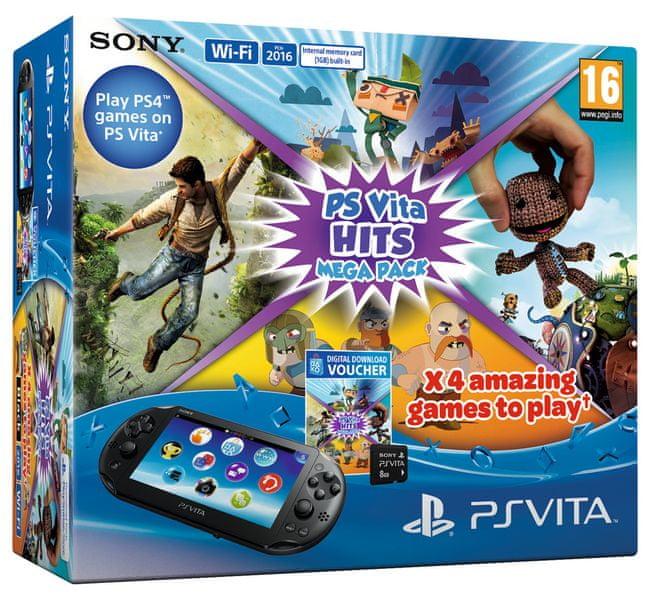 Sony PS Vita Mega Pack Hits + 8GB Memory Card
